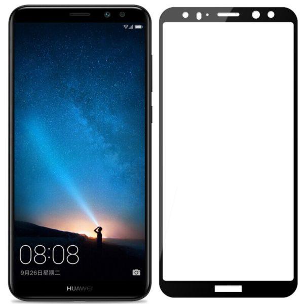 Huawei Mate 10 Lite Heltäckande 3D Härdat Glas Skärmskydd 0,2mm