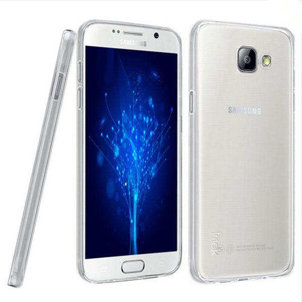 Samsung Galaxy A3 2016 Genomskinlig Mjuk TPU Skal