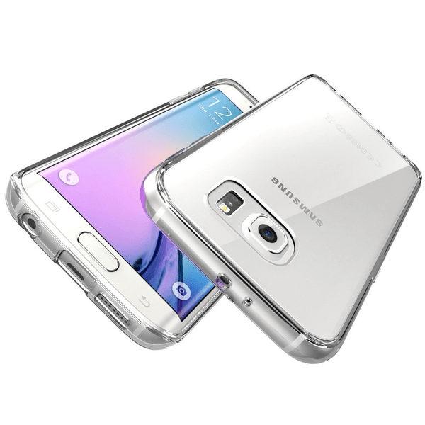 Samsung Galaxy S6 Edge Plus Genomskinligt Mjukt TPU Skal