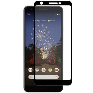 Google Pixel 3a XL Heltäckande 3D Härdat Glas Skärmskydd 0,2mm