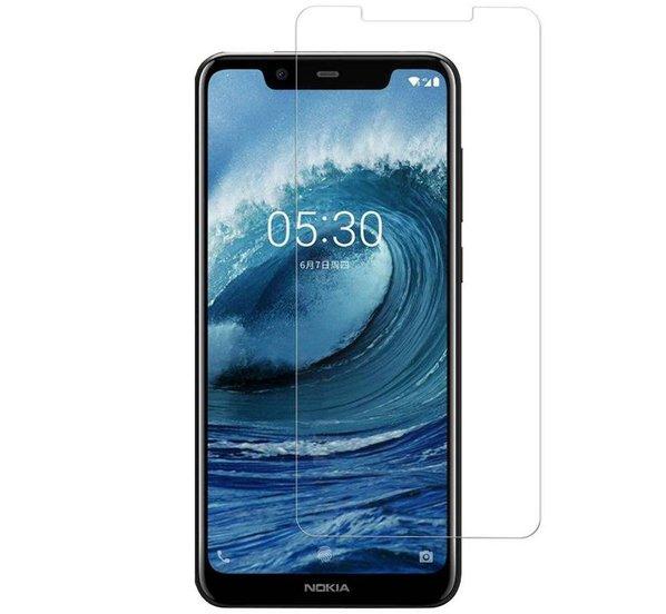 Nokia 5.1 Plus Härdat Glas Skärmskydd 0,3mm