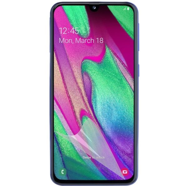 3-Pack Samsung Galaxy A40 Skärmskydd - Ultra Thin