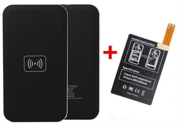 Samsung Galaxy S4 - Qi Trådlös Laddare + Mottagare!