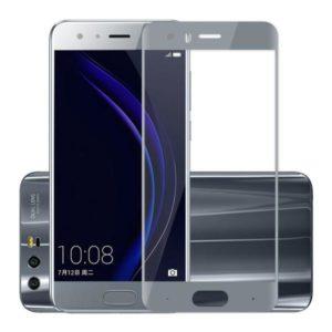 Huawei Honor 9 Grå Heltäckande Härdat Glas Skärmskydd 0,2mm