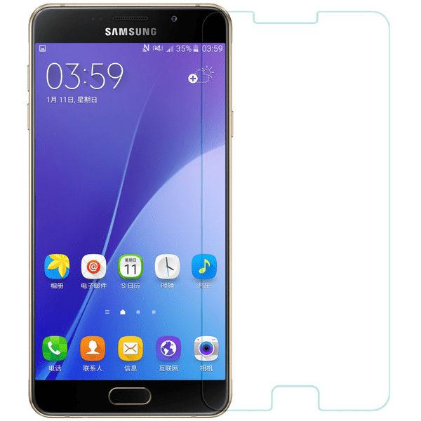 2-Pack Samsung Galaxy A7 2016 Härdat Glas Skärmskydd 0,3mm