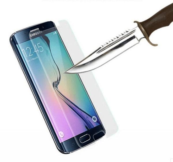 2-Pack Samsung Galaxy S7 Edge Härdat Glas Skärmskydd 0,3mm
