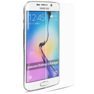 2-Pack Samsung Galaxy S6 Edge Härdat Glas Skärmskydd 0,3mm