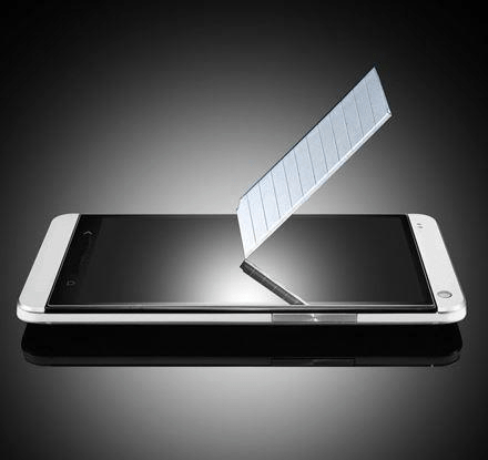 Samsung Galaxy S6 Edge+ Härdat Glas Skärmskydd 0,2mm