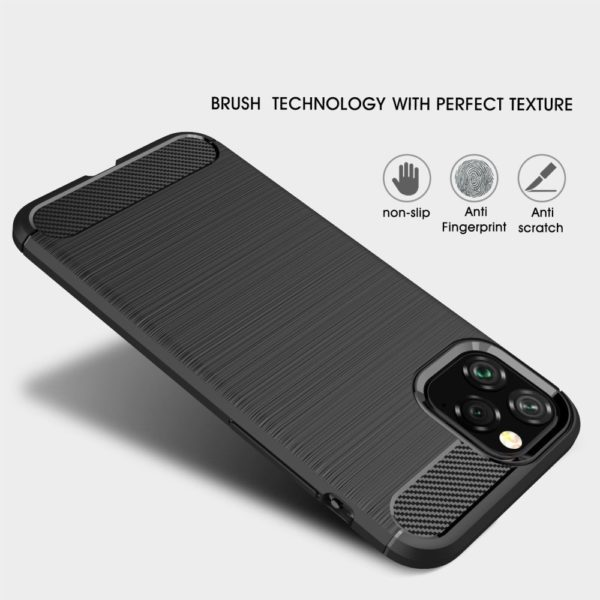 iPhone 11 Pro Anti Shock Carbon Stöttålig Skal