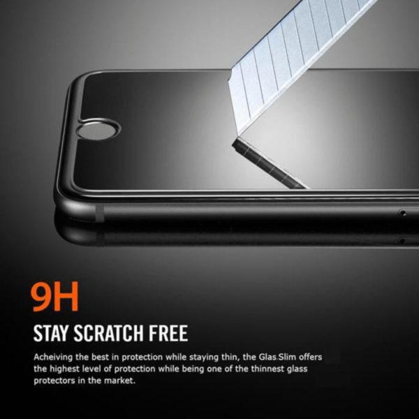Samsung Galaxy A80 Heltäckande 3D Härdat Glas Skärmskydd