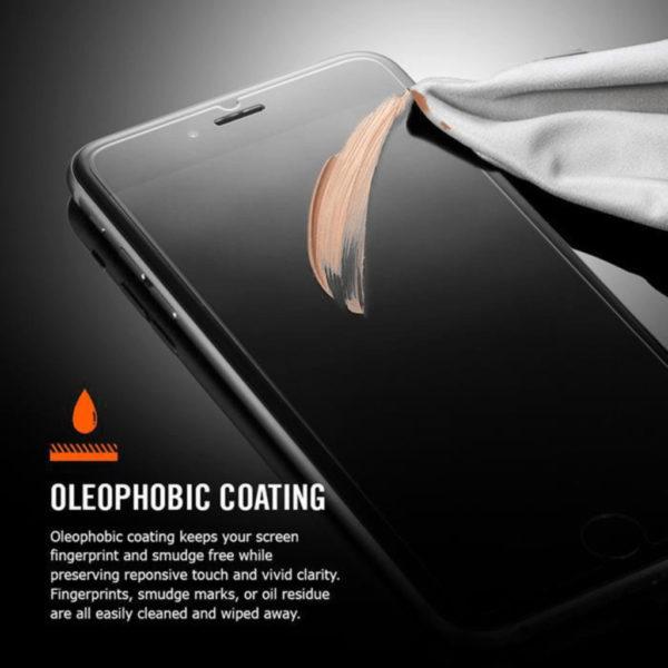 OnePlus 7T Heltäckande 3D Härdat Glas Skärmskydd 0,2mm