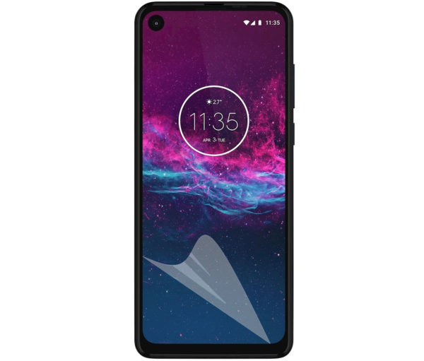 2-Pack Motorola One Action Skärmskydd - Ultra Thin