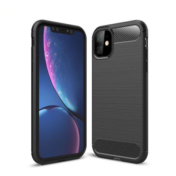 iPhone 11 Anti Shock Carbon Stöttålig Skal