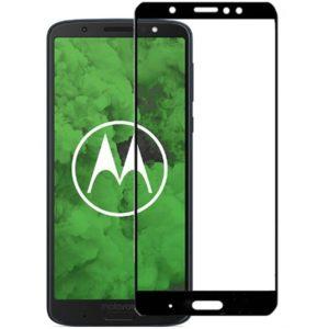 Motorola Moto G6 Heltäckande 3D Härdat Glas Skärmskydd