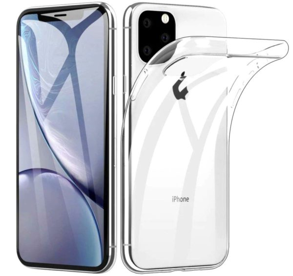 iPhone 11 Pro Max Genomskinligt Mjukt TPU Skal