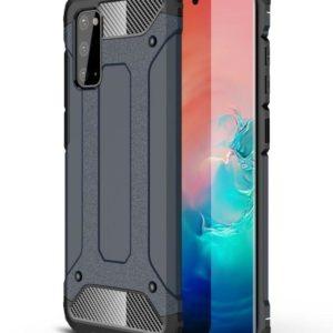 Samsung Galaxy S20 Armor Stöttålig Skal - Marinblå