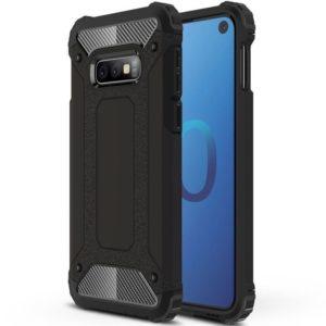 Samsung Galaxy S10e Armor Case Stöttålig Skal - Svart