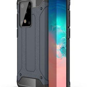 Samsung Galaxy S20 Ultra Armor Stöttålig Skal - Marinblå