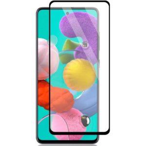Samsung Galaxy A51 Heltäckande 3D Härdat Glas Skärmskydd