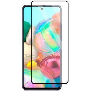 Samsung Galaxy A71 Heltäckande 3D Härdat Glas Skärmskydd