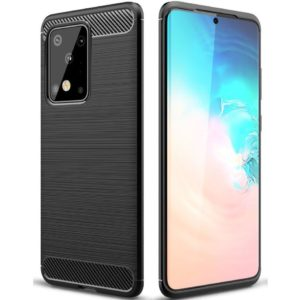 Samsung Galaxy S20 Ultra Anti Shock Carbon Case Stöttålig Skal