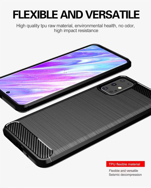 Samsung Galaxy S20 Plus Anti Shock Carbon Case Stöttålig Skal