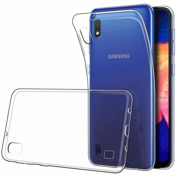 Samsung Galaxy A10 Genomskinligt Mjukt TPU Skal