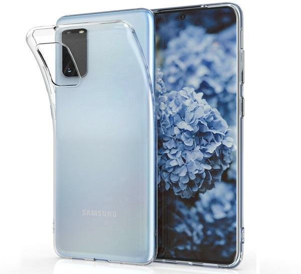 Samsung Galaxy S20 Plus Genomskinligt Mjukt TPU Skal