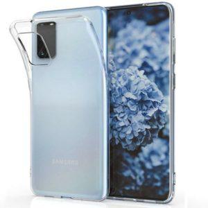 Samsung Galaxy S20 Ultra Genomskinligt Mjukt TPU Skal