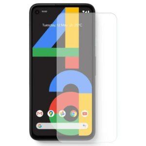 2-Pack Google Pixel 4a Härdat Glas Skärmskydd 0,3mm