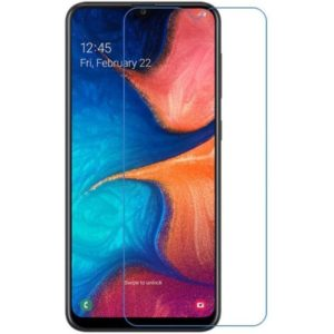 2-Pack Samsung Galaxy A20s Härdat Glas Skärmskydd 0,3mm