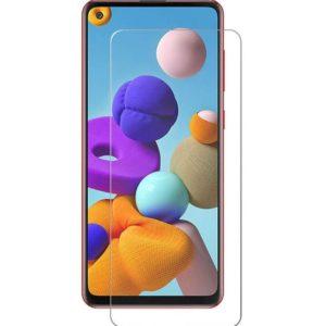 Samsung Galaxy A21s Härdat Glas Skärmskydd 0,3mm