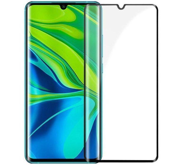 Xiaomi Mi Note 10 Lite Heltäckande 3D Härdat Glas Skärmskydd