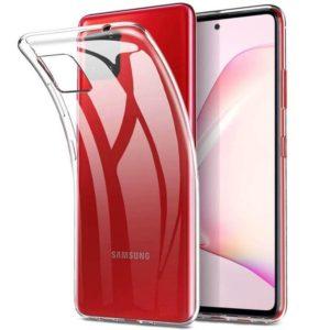 Samsung Galaxy Note 10 Lite Genomskinligt Mjukt TPU Skal