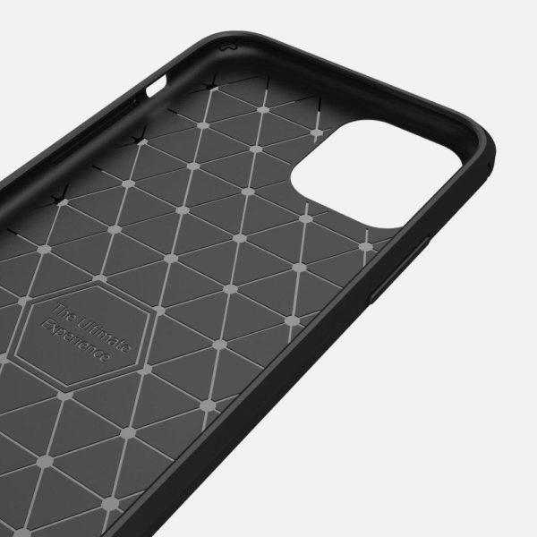 iPhone 12 Anti Shock Carbon Stöttålig Skal