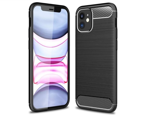iPhone 12 Mini Anti Shock Carbon Stöttålig Skal