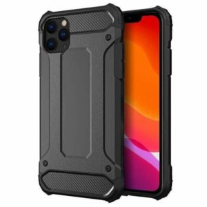 iPhone 12 Pro Armor Case Stöttålig Skal - Svart
