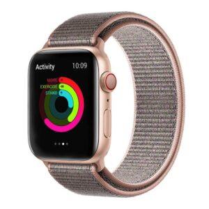 Apple Watch 38mm / 40mm Armband Röd Nylon